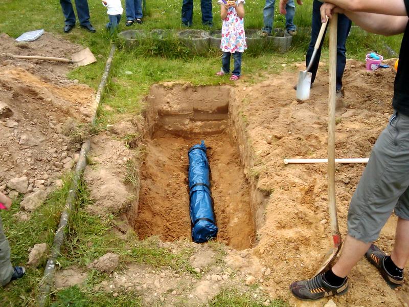 Vergraben