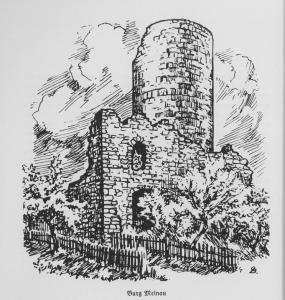 Burg Mellnau - mainzisches Bollwerk