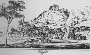 Die Stammburg der Ritter von Hatzfeld