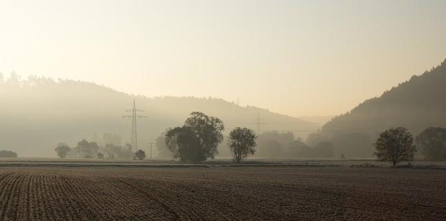 04-Nebel vor Goettingen